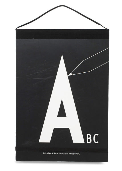 AJ Paint Book - alphabet ABC -  - Design Letters - 1