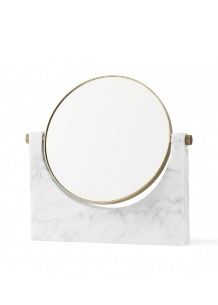 Pepe Marble Mirror - White - Menu A/S - 1