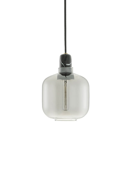Amp Lamp Smoke/Black - Small - Normann Copenhagen - 2