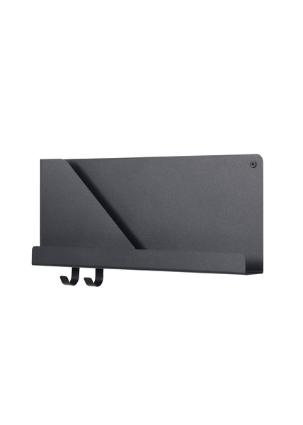 Folded Shelves - Small / Black - Muuto - 2