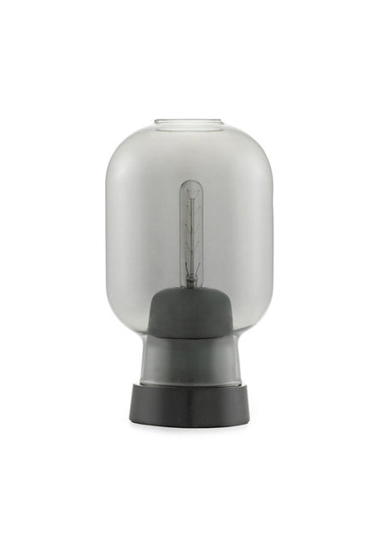 Amp Table Lamp - Smoke/Black - Normann Copenhagen - 1