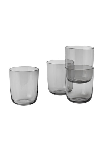 Corky Tall Glass (set of 4) - Grey - Muuto - 2