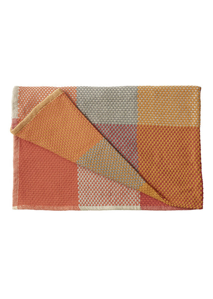 Loom throw - Tangerine - Muuto - 2