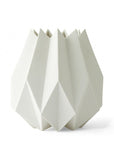 Folded Vase - tall - Tall / White - Menu A/S - 1
