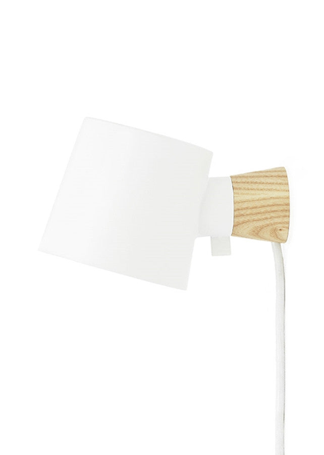 Rise Wall Lamp - White - Normann Copenhagen - 1