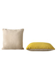 Mingle Cushion-50x50cm - Yellow - Muuto - 6
