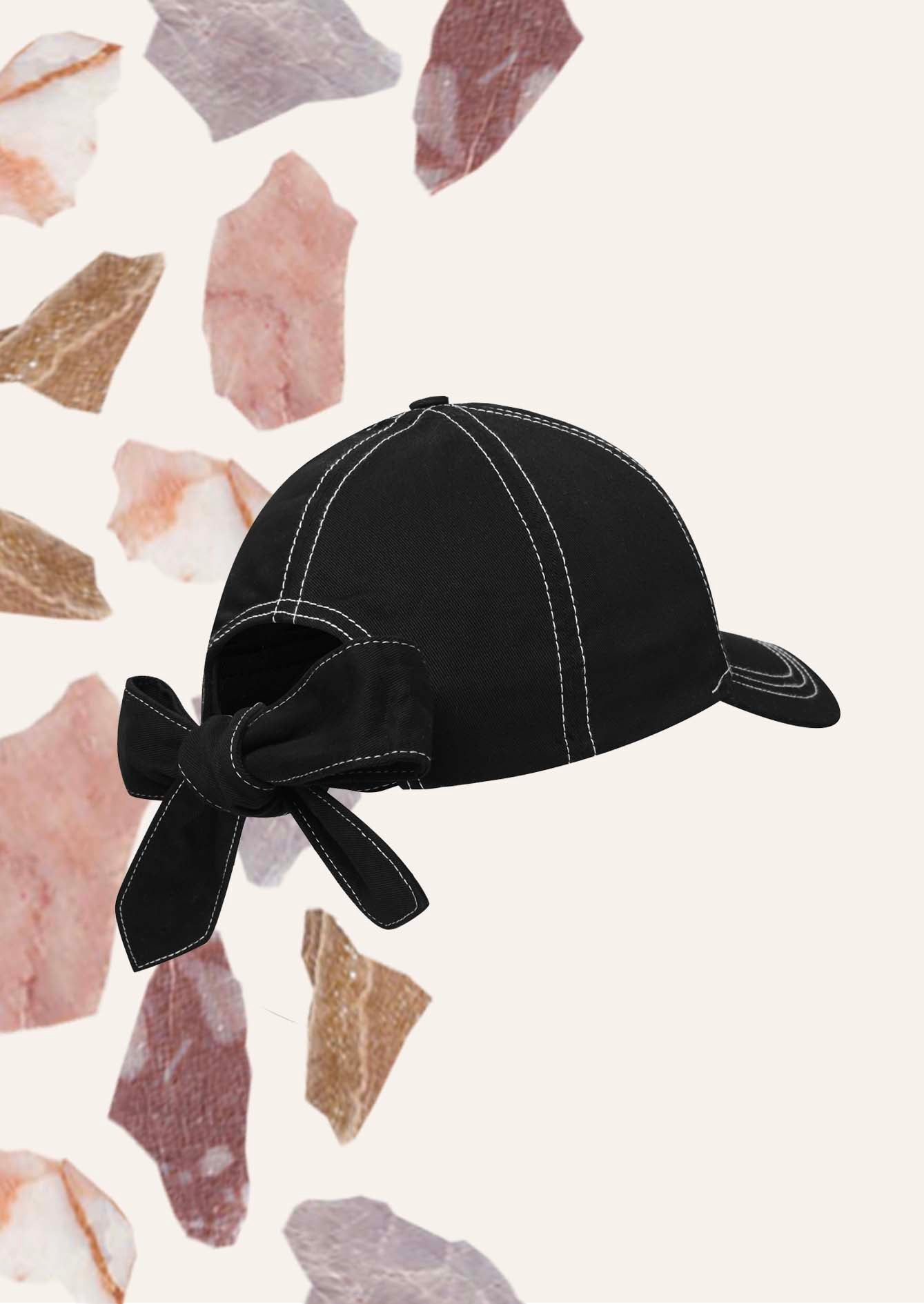 Fitzwilliam Cotton Cap - Black
