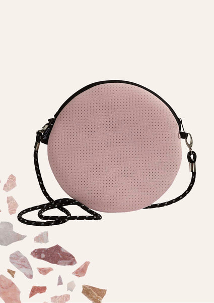 Round Shoulder Bag - Pink