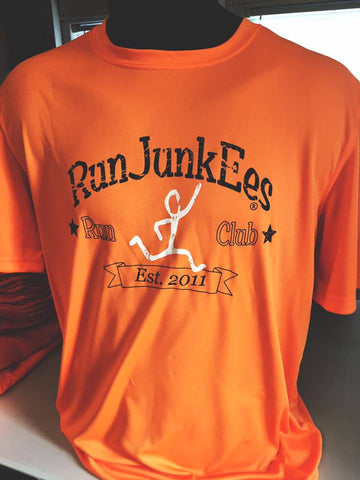 RunJunkEes™ Safety Orange Tee