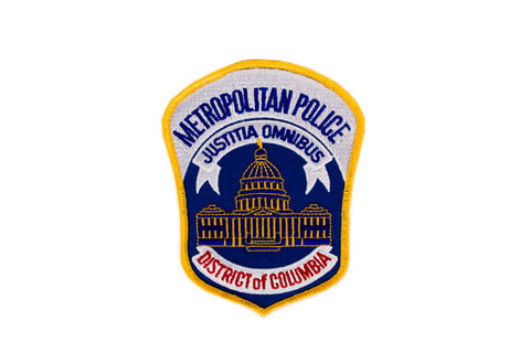 District of Columbia Metropolitan Police Patch