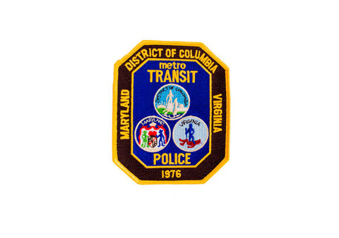 District of Columbia Metro Transit Police Patch