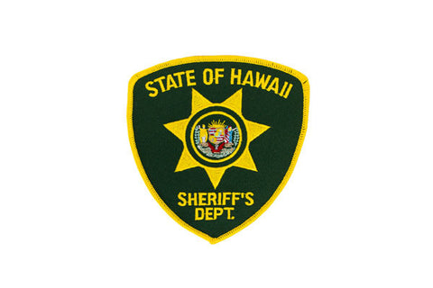 Hawaii Police Patch