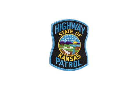 Kansas Police Patch
