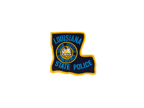 Louisiana Police Patch