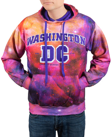 NEW Galaxy Washington DC  Sweatshirt (Purple)