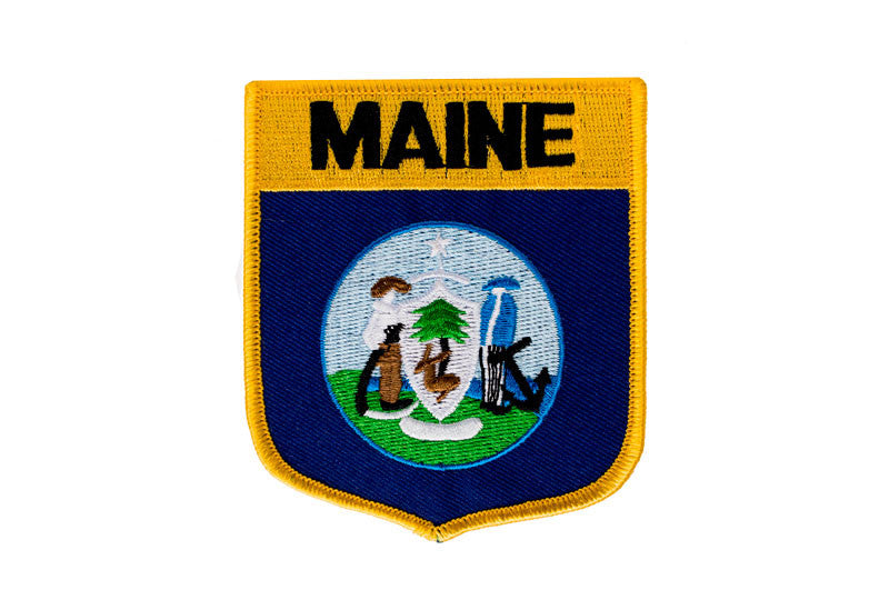 Maine State Iron-on Patch