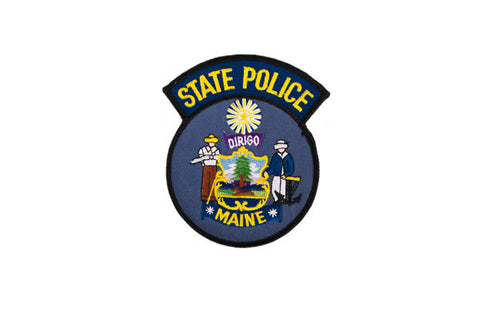 Maine Police Patch