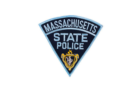 Massachusetts Police Patch