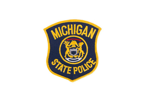 Michigan Police Patch