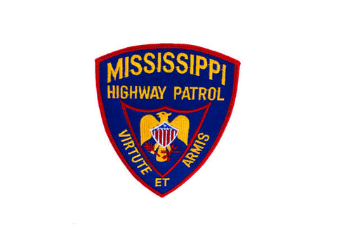 Mississippi police patch