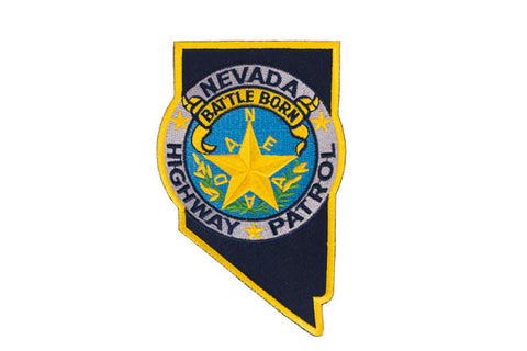 Nevada Police Patch