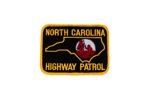 North Carolina Police Patch