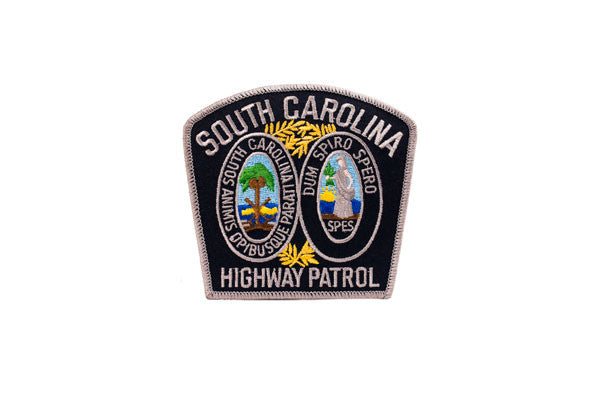 South Carolina Police Patch