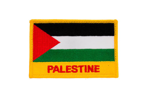 Palestine Flag Embroidered Patch