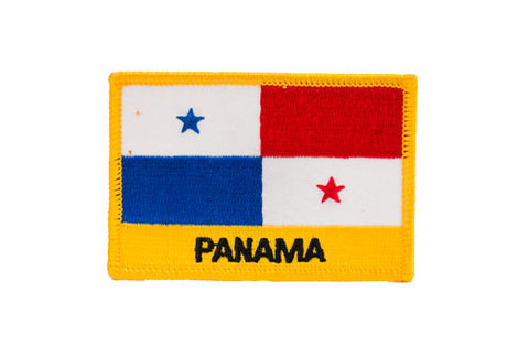 Panama Flag Embroidered Patch