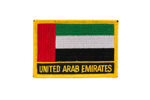 United Arab Emirates Flag Embroidered Patch