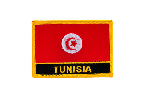 Tunisia Flag Embroidered Patch