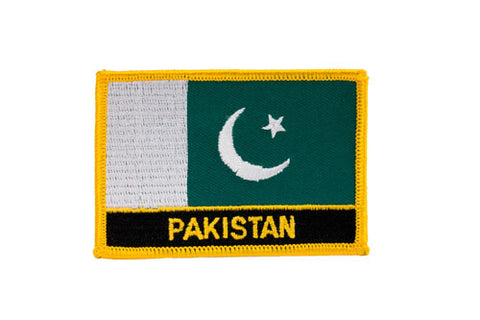 Pakistan Flag Embroidered Patch