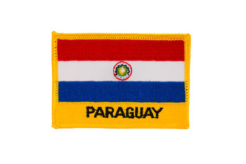 Paraguay Flag Embroidered Patch