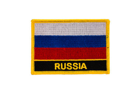 Russia Flag Embroidered Patch