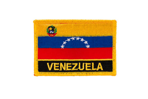 Venezuela Flag Embroidered Patch