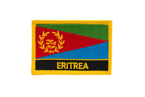 Eritrea Flag Embroidered Patch