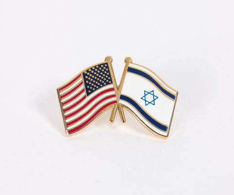 USA/Israel Flag Lapel Pin