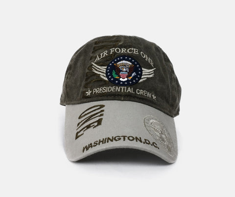 Air Force One  Washington DC Embroidered Adjustable Hat