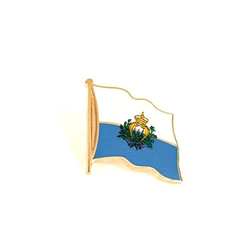 San Marino Flag Lapel Pin