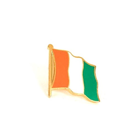 Ivory Coast Flag Lapel Pin