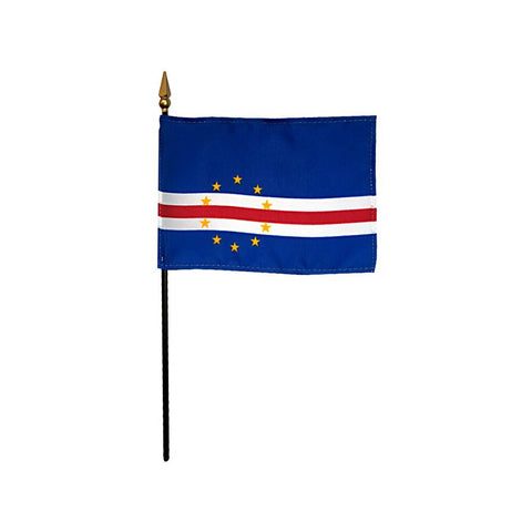 Cape Verde Stick Flag