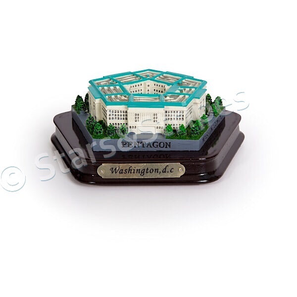 The Pentagon Paperweight Replica
