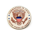 Commander in Chief Lapel Pin