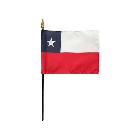 Chile Stick Flag
