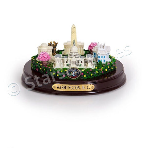 "Washington, D.C. Monuments Desk Statue - 8""Wide"