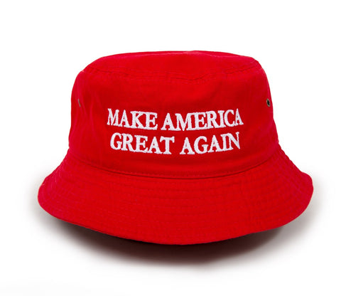 Make America Great Again Bucket Hat (Red)