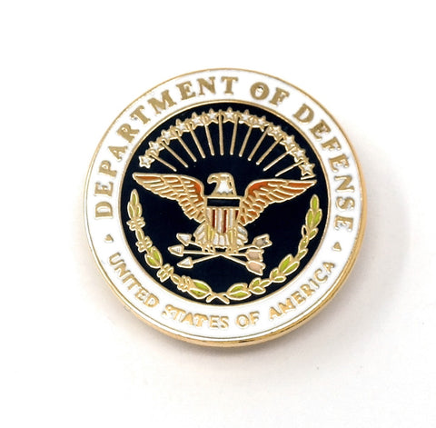 Department of Defense Lapel Pin
