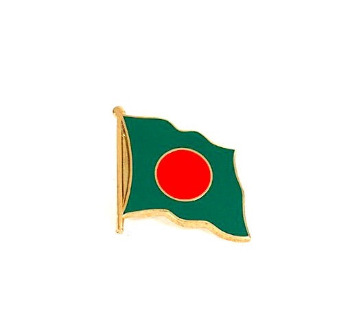 Bangladesh Flag Lapel Pin