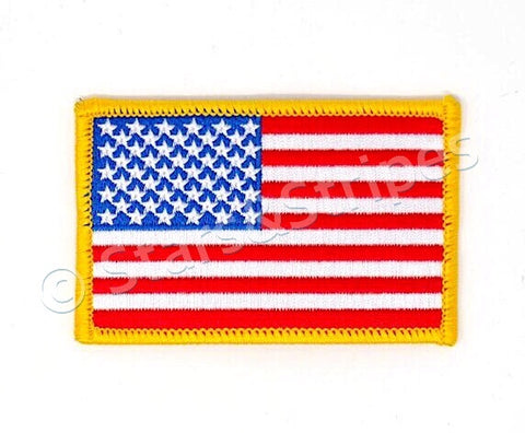 USA Embroidered Patch