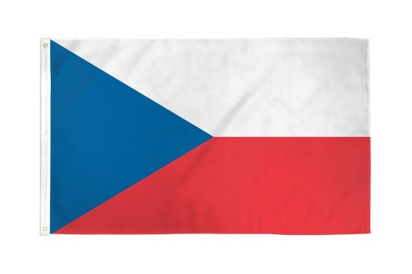 Czech Republic Flag 3x5ft